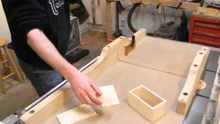 Making a small plywood box