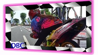 Drag Bike Cewek -- Monita Permata Wijaya Seting FU 2015 | HD VIDEO