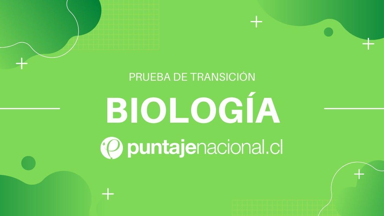 Prueba de Transición BIOLOGÍA   Comunidades   Clase N°14