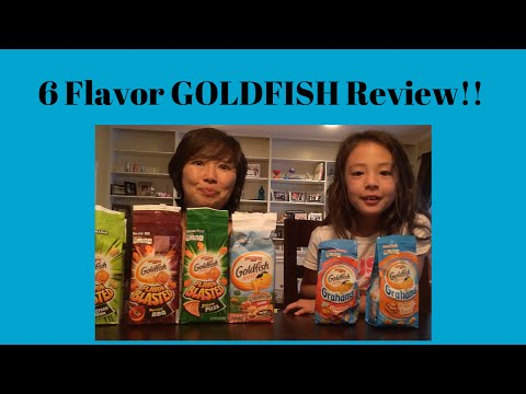 GOLDFISH Crackers - 6 Flavors!