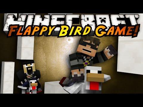 Minecraft Mini-Game : FLAPPY BIRD?!