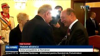 """Traian Băsescu: """"Dodon nu ţine cont de istoria acestui pământ românesc"""""""