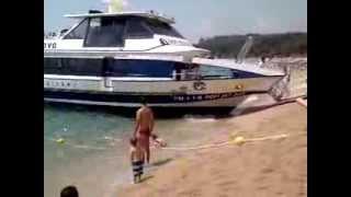 Пляж Коста Брава Испания(Побережье Коста Брава в Испании, как для меня - это идеальный отдых. Пляжи супер. :-0., 2013-08-22T05:13:59.000Z)