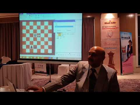 Master Class with GM Pravin Thipsay Part II