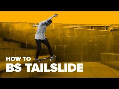 Как сделать bs tailslide на скейте (How to bs tailslide on skateboard)