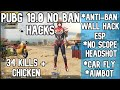 34 kills | SUPER CHEATER!!! | AIMBOT + WALLHACK + SPEED HACK + FLY HACK | HACKER IN MY GAME | PUBG M