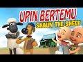 Upin ipin bertemu Shaun The Sheep   Upin senang GTA Lucu