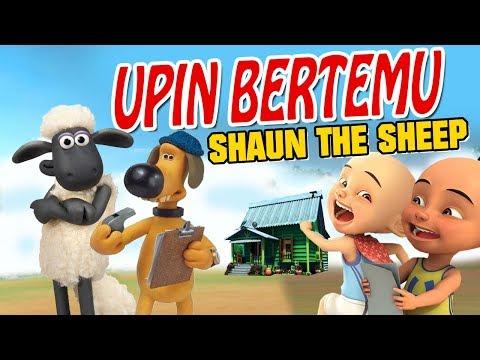 upin-ipin-bertemu-shaun-the-sheep-,-upin-senang-gta-lucu