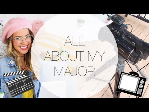 ALL ABOUT MY COLLEGE MAJOR: TV PRODUCTION