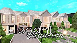 Elegant Mansion Full Tour  Bloxburg
