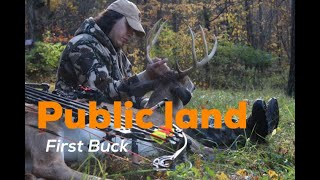 public land deer hunting first buck