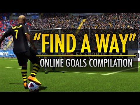 """Find A Way""   A FIFA 14 Online Goals Compilation"