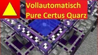 Vollautomatisch Pure Certus Quarz wachsen im Crystal Growth Accelerator AE 2 Tutorial