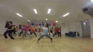"""*** J Balvin - """"Ay vamos"""" Zumba Fitness choreography ***"""