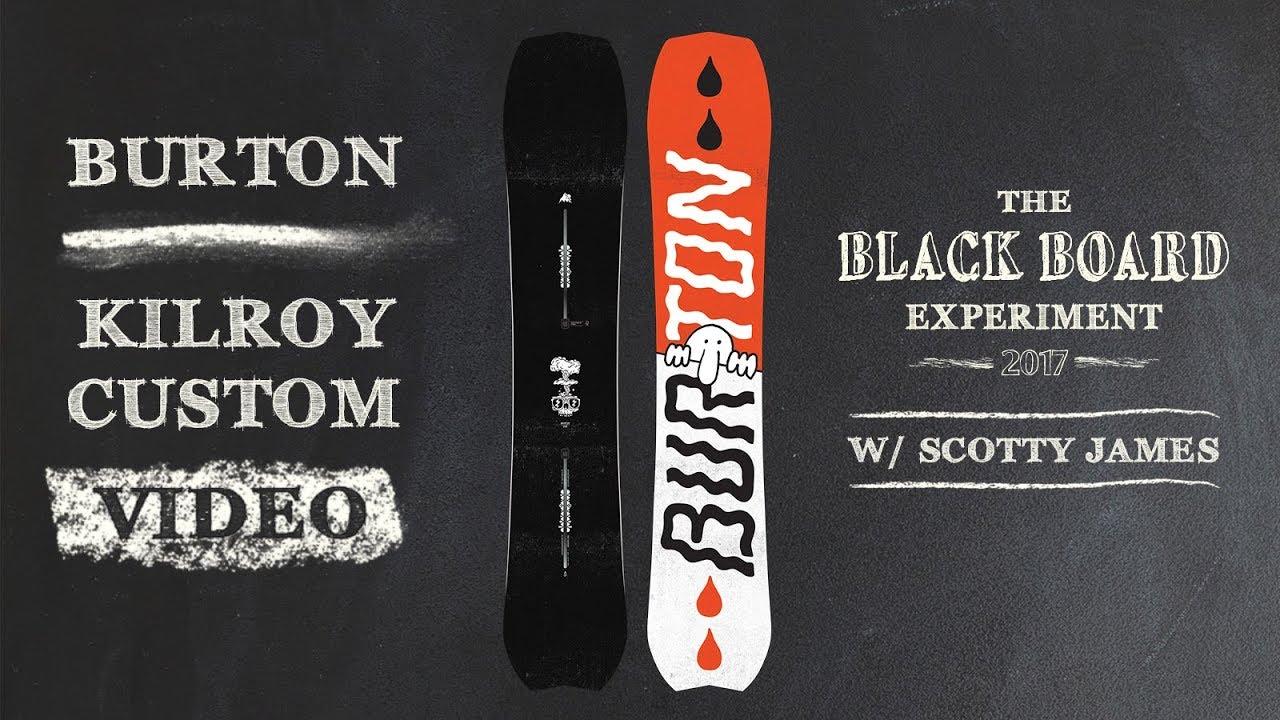 82890cfb892 2018 Burton Kilroy Custom Snowboard Review - Blackboard Experiment ...