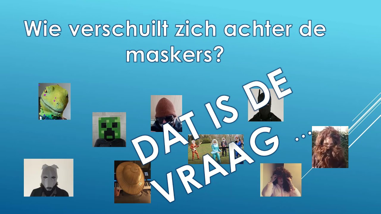 The masked teacher van Hasp-O Stadsrand
