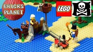 shipwreck defense 70409 lego pirates review stop motion time lapse build