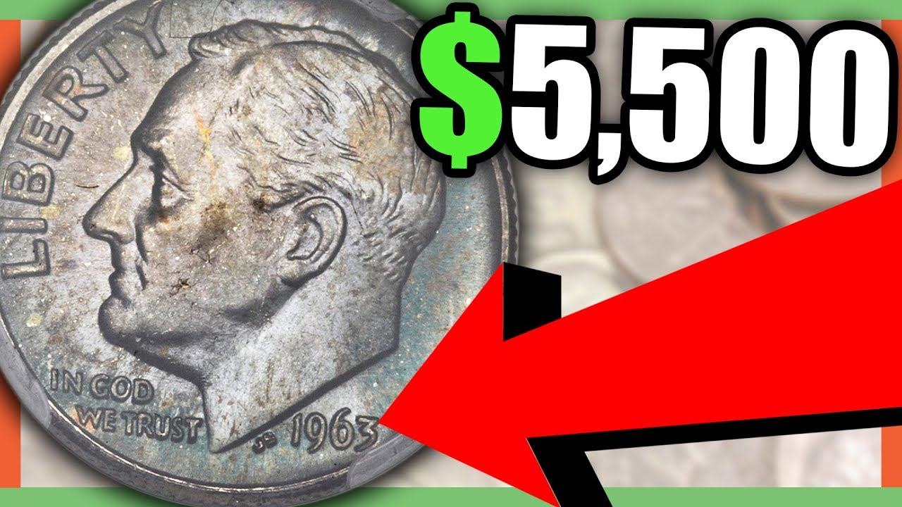 VALUABLE 1963 DIME WORTH MONEY
