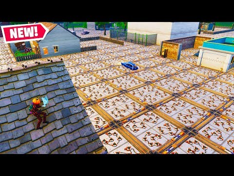 THE FLOOR IS LAVA (SPIKE TRAP EDITION) In Fortnite PLAYGROUND V2 MODE! - Fortnite Battle Royale