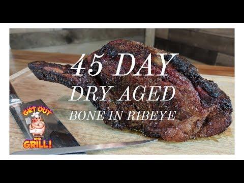 How to Dry Age Beef | 45 Day Aged Bone in Ribeye | Umai Steak Bags
