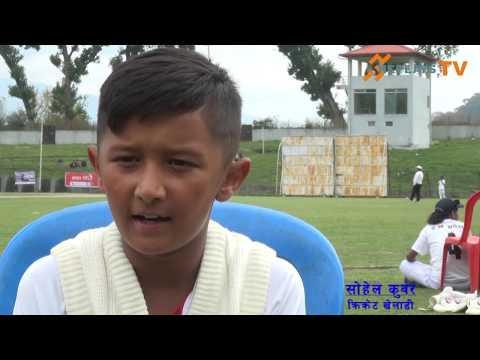 Sohail Kunwar A rising cricketer of Nepal