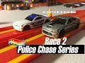 Hot Wheels 2018 Kmart (KDay) B case-15 Dodge Charger SRT-Police Chase Series Race 2