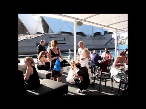 Amy & Lawrence - Wedding  Reception - The Pontoon, Sydney Harbour, Sydney