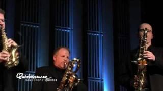 Quintessence Saxophone Quintet Plays Bach: Fudge Fugue