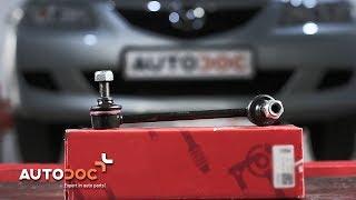 Montaż Drążek wspornik stabilizator przednie prawy MAZDA 6: instrukcje wideo