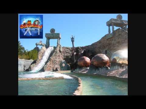 Fuga da Atlantide -  New Soundtrack - Colonna Sonora - Gardaland - HD