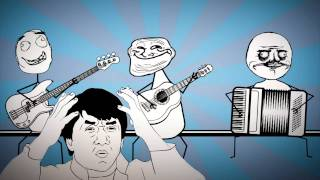 Rage Faces Song - Fat and Alone (Troll Face, Me Gusta, Normal Guy)