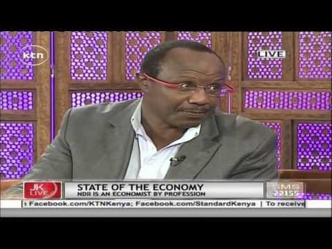 Jeff Koinange Live with Africa Economics MD and columnist David Ndii part 1