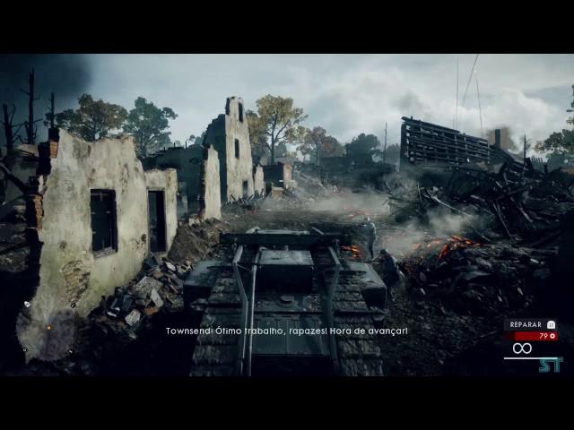 Battlefield™ 1 Campanha parte 2 ATRAVÉS DE LAMA E SANGUE (Dublado e sem comentários)