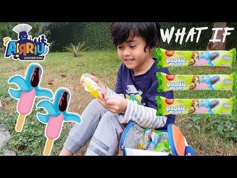 What if Airriu jadi penjual es krim paddle pop octopus