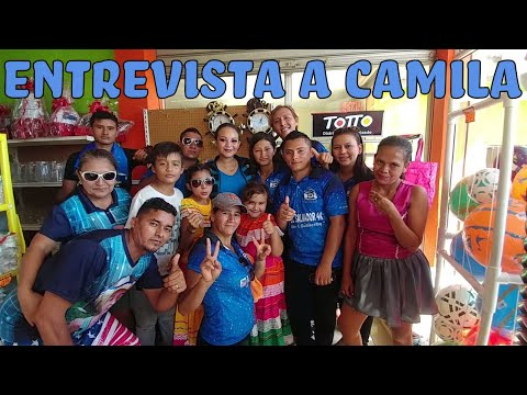 Entrevista a Camila la gandora del mano a mano. Concurso de Bandas en Mega Plaza El Ceibillo 2017