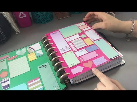 Classic Happy Planner Setup for Spring 2018