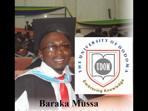 Baraka Mussa - BSc in Health Information Systems Graduate from The University of Dodoma