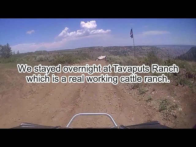 Tavaputs Ranch 8-12-17