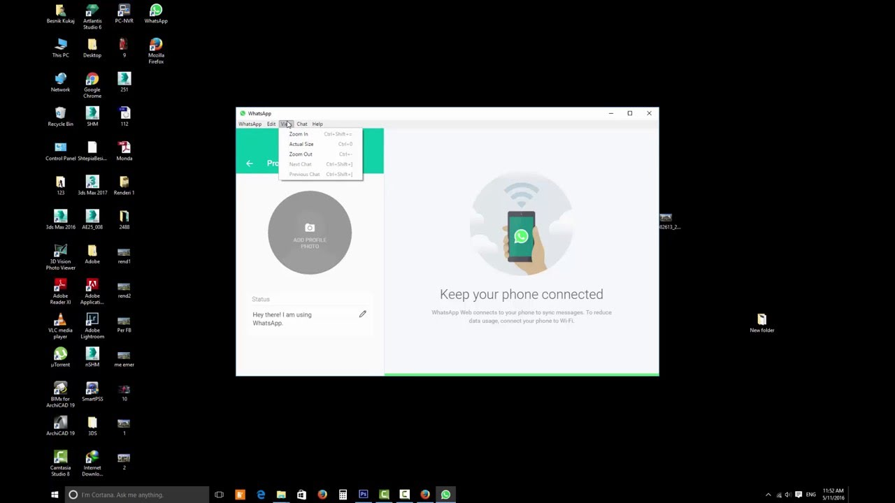 how to install whatsapp on desktop