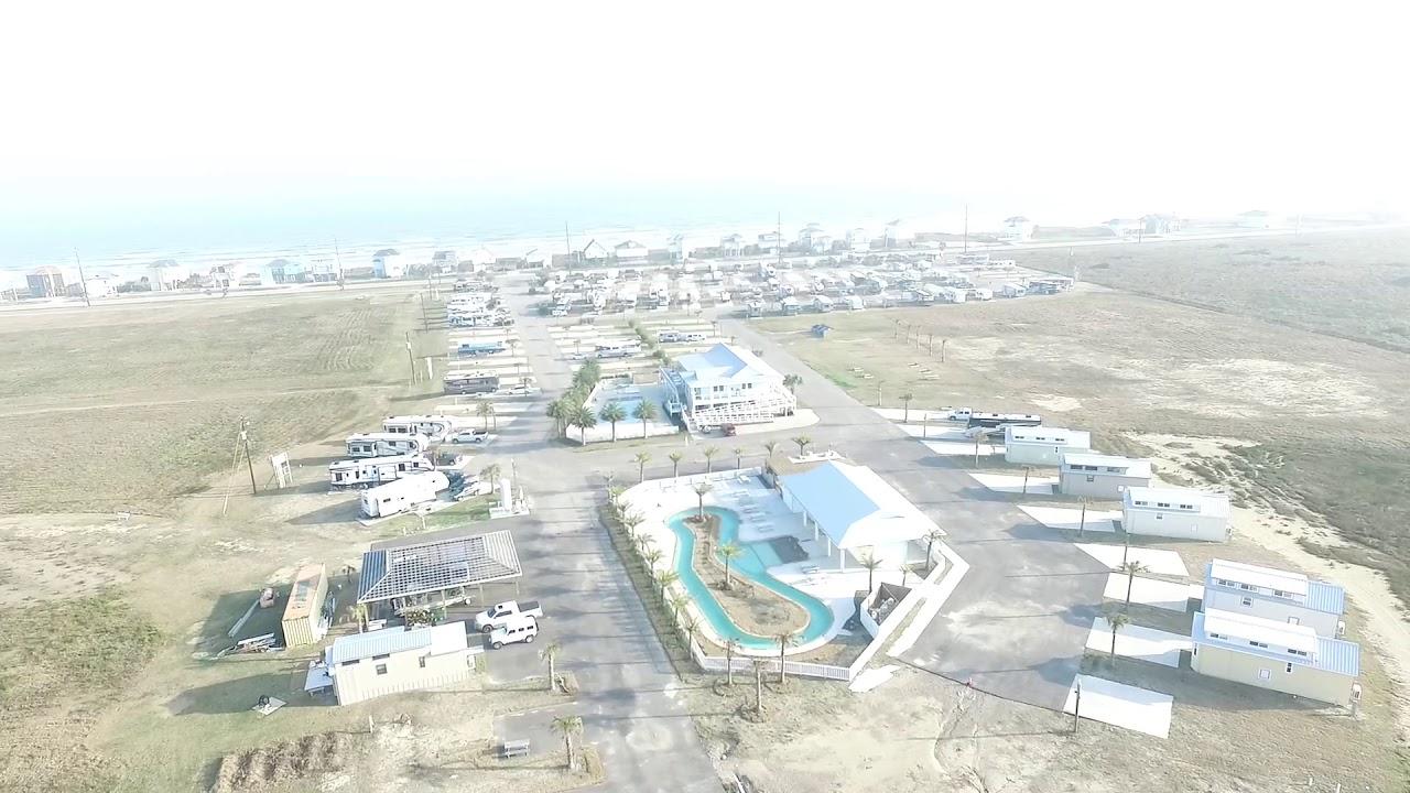 Galveston Island RV Resort - YouTube