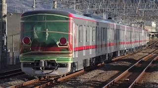 東武70000系71707F甲種輸送