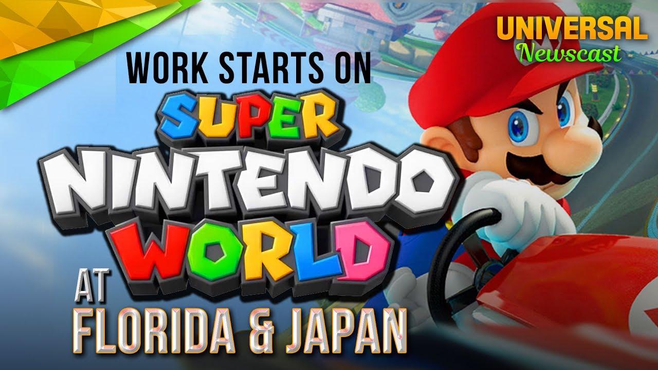 Work starts on super nintendo world florida japan universal work starts on super nintendo world florida japan universal studios news 07142017 publicscrutiny Choice Image