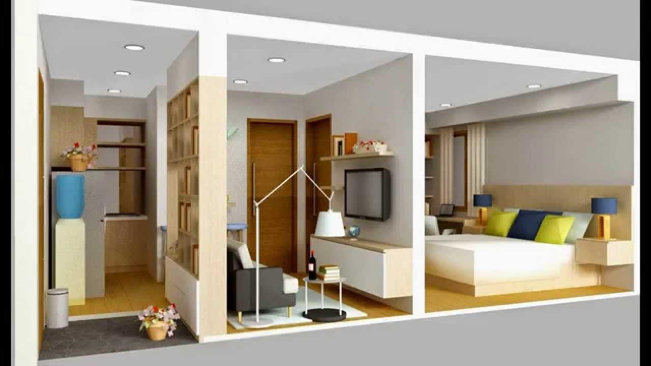 & Interior rumah kecil minimalis sederhana - YouTube