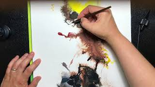 How to Art Scry with Ink  Intuitive Drawing Tutorial
