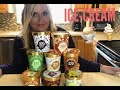 Weight Watcher Friendly HALO TOP HAUL & Ice-Cream Reviews!