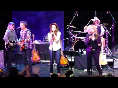 """Lucinda Williams with Buddy Miller and Brandi Carlile """"Get Right With God"""" Cayamo 2015"""