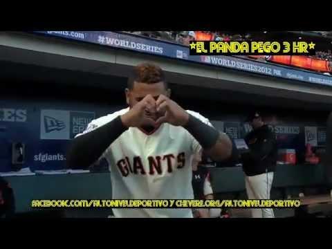 *PABLO SANDOVAL LE CAYO A PANDAZO LIMPIO A LOS TIGERS DE DETROIT 10/ 24 /12*