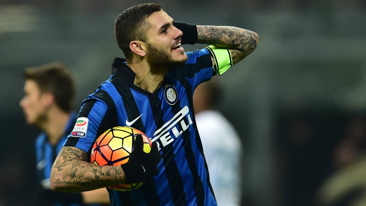 Mauro Icardi ○ All Goals in Serie A ○ 2015 16