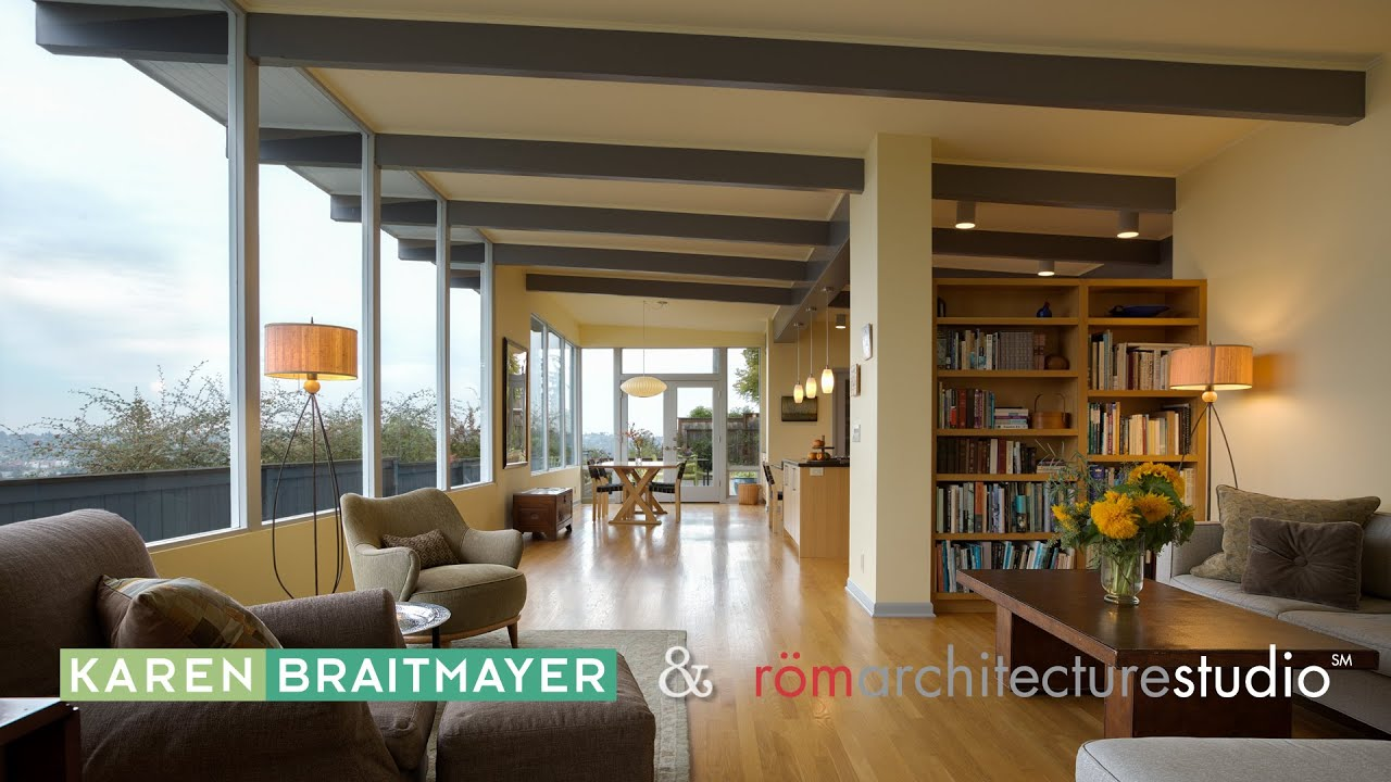 Mid Century Home Design. Architecture Spotlight  46 Mid Century Modern by Rom Karen Braitmayer Seattle WA YouTube