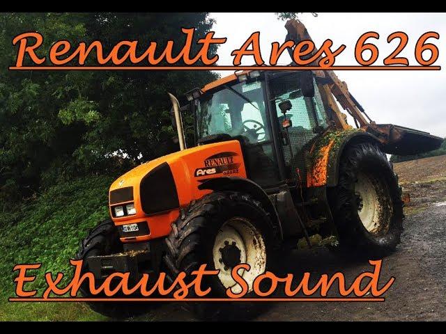 Renault Ares 626 Farm Tractor   Renault Farm Tractors